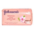 Johnsons Soft And Fresh Indulge Soap With Cherry Blossam And Vanilla Aroma-125gm